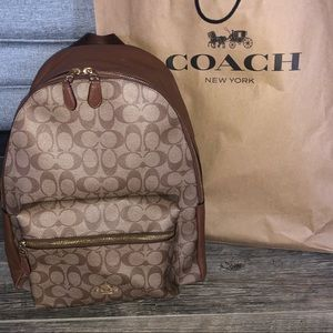 Coach backpack ✨